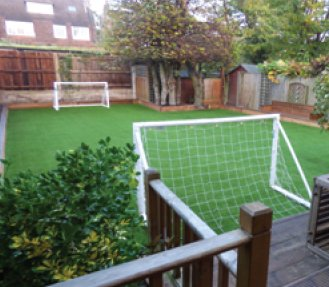 Artificial grass in Sussex